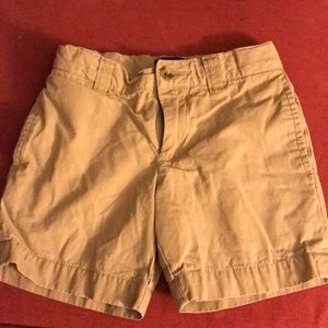 Ralph Lauren boys khaki shorts